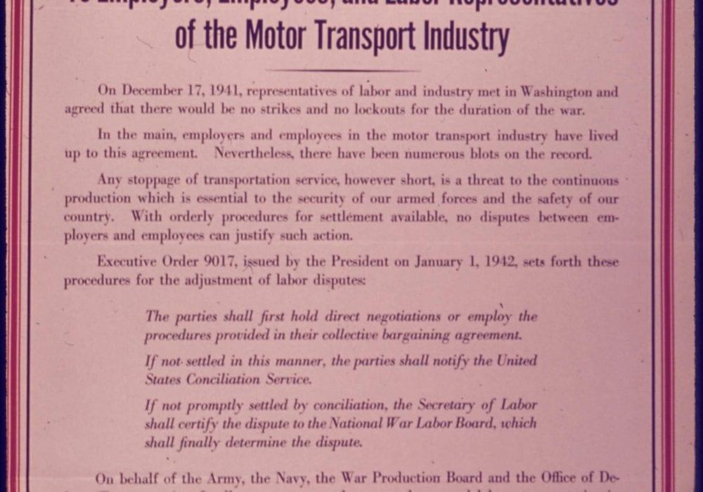 Notice of Service