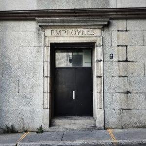 Employee Door