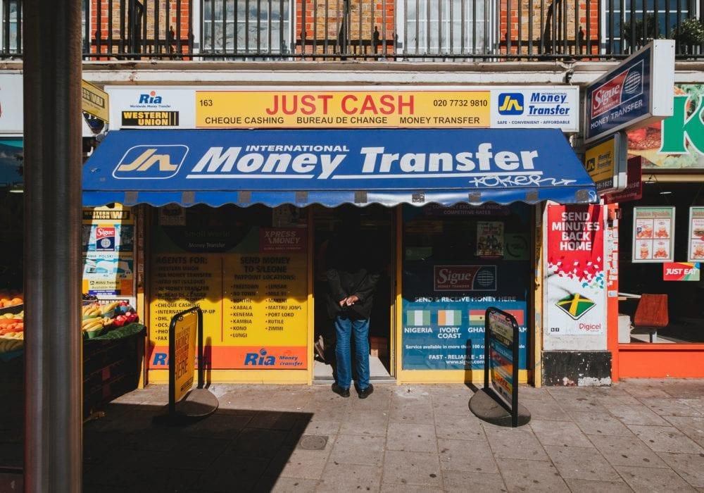 Money Transfer Station